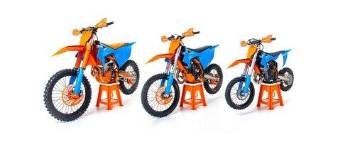 Acerbis: kit plastiche limited edition KTM (2)