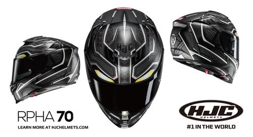 HJC RPHA70 Black Panther (2)