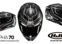 HJC RPHA70 Black Panther