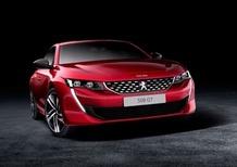 Nuova Peugeot 508: immagini ufficiali della GT in attesa delle conferme per l'ibrido