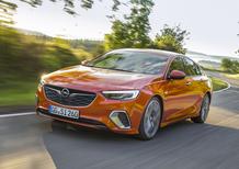 Opel Insignia GSi 2018, 210 o 260 CV per sfidare Volkswagen Arteon e non solo [Video]