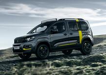 "Peugeot Rifter 4x4 Concept, MPV ma ""allroad"""