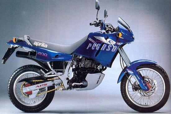 Aprilia Pegaso con motore Rotax raffreddato ad aria
