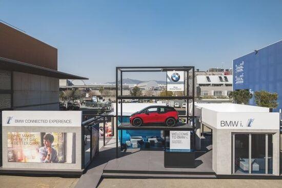 L'area di prova per il demo BMW di guida autonoma livello 5