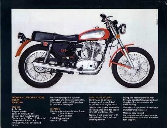 Pubblicità americana Ducati Scrambler
