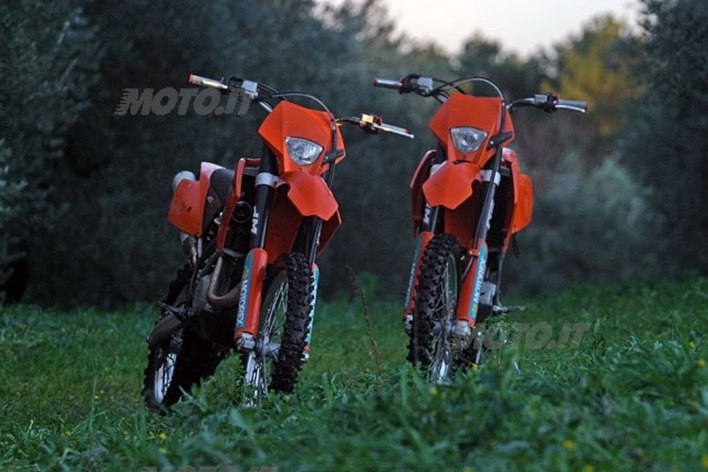 KTM EXC 450 e 400