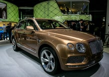Bentley al Salone di Francoforte 2015