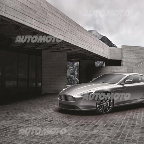Aston Martin DB9 GT Bond Edition, La DB9 Celebra 007