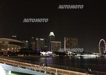 Staurenghi e la F1 vista dall'hospitality Pirelli. Il GP di Singapore