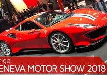 Ferrari al Salone di Ginevra 2018 [Video]