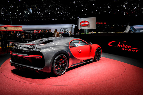 Bugatti al Salone di Ginevra 2018 (2)