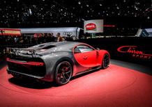 Bugatti Chiron Sport al Salone di Ginevra 2018