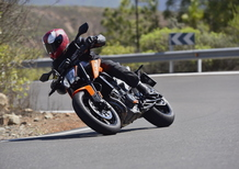 KTM 790 Duke. Media ready to race