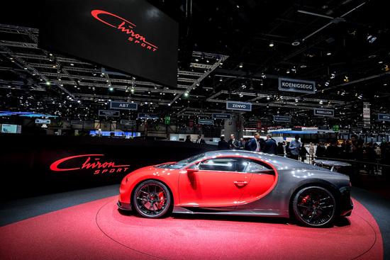 La Bugatti Chiron Sport