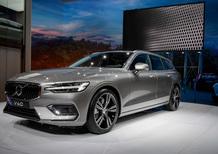 Nuova Volvo V60 al Salone di Ginevra 2018 [Video]