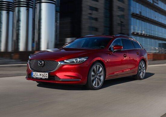Mazda6 Wagon restyling al Salone di Ginevra 2018