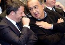 Renzi: «Ferrari sarà quotata anche a Milano»