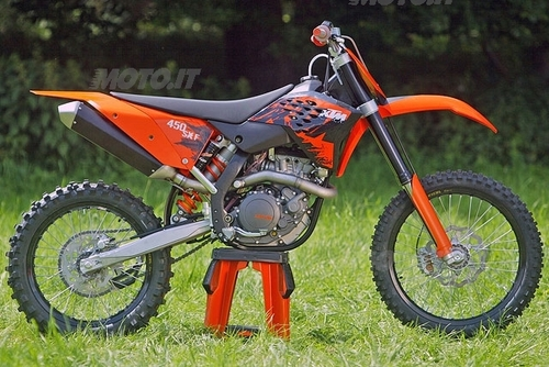 KTM Gamma Cross Enduro 2007