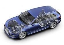 Audi A4 Avant g-tron, il metano diventa premium