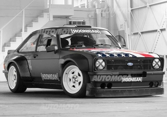 Ford Escort RS Gymkhana, la nuova bestia di Ken Block [Video]