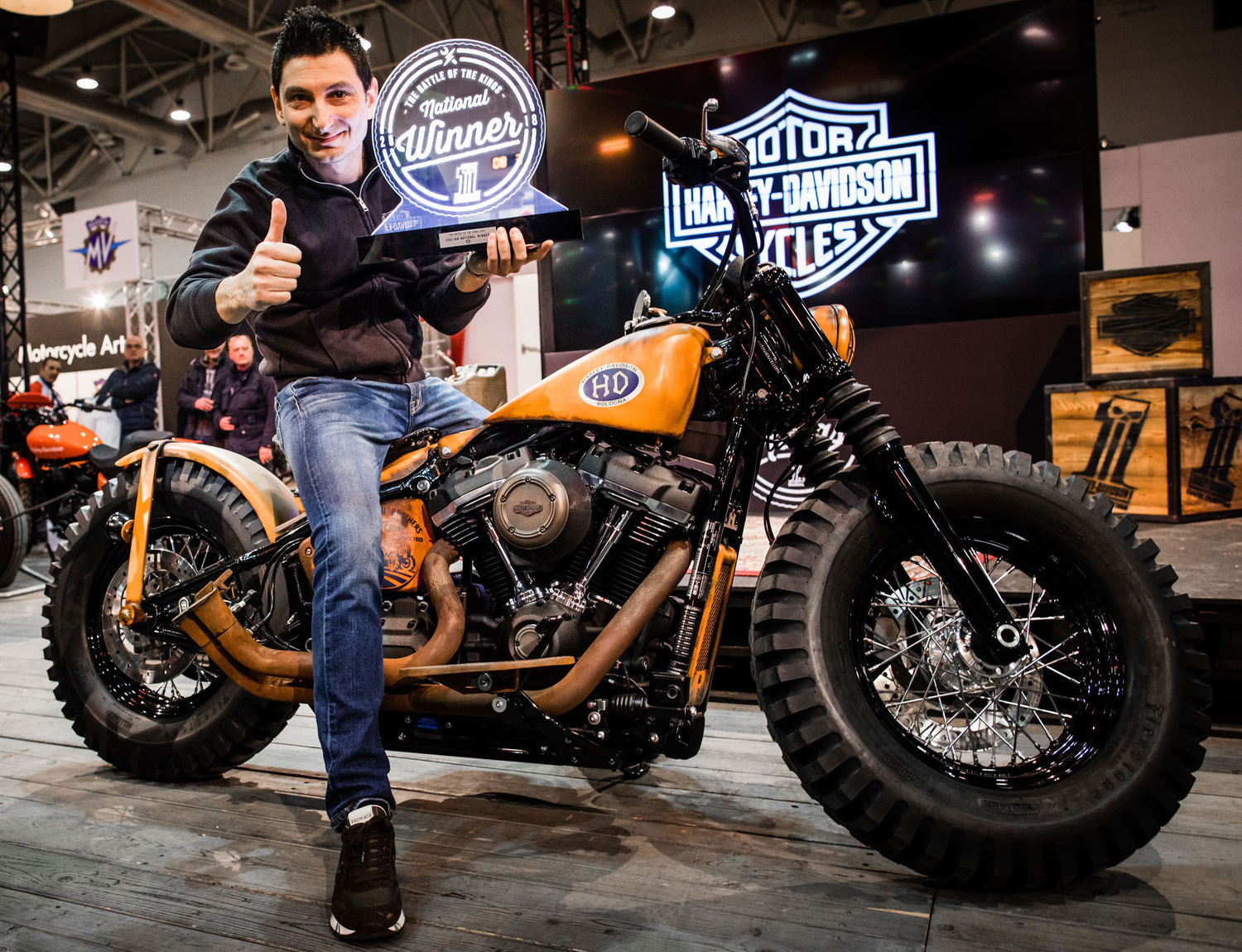 Battle of the Kings: vince H-D Bologna