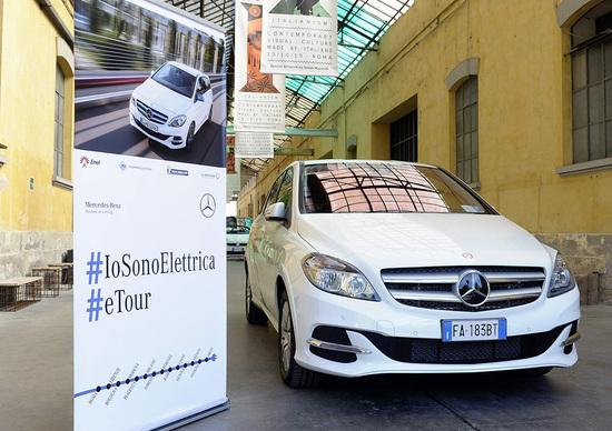 Mercedes #IoSonoElettrica: al via l'eTour italiano