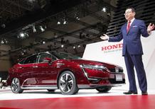 Honda Clarity Fuel Cell: l'auto a idrogeno arriva nel 2016