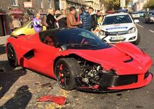LaFerrari: gomme fredde, tre macchine colpite a Budapest