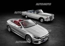 Mercedes: grandi cabriolet, il chiodo fisso della Stella [Video]