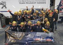WRX, Team Peugeot-Hansen: Campioni del Mondo in famiglia