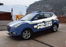 Una Hyundai ix35 Fuel Cell per la Polizia