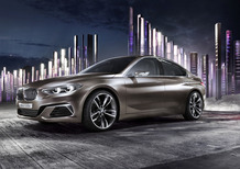 BMW Compact Sedan Concept: la prossima Serie 1 berlina