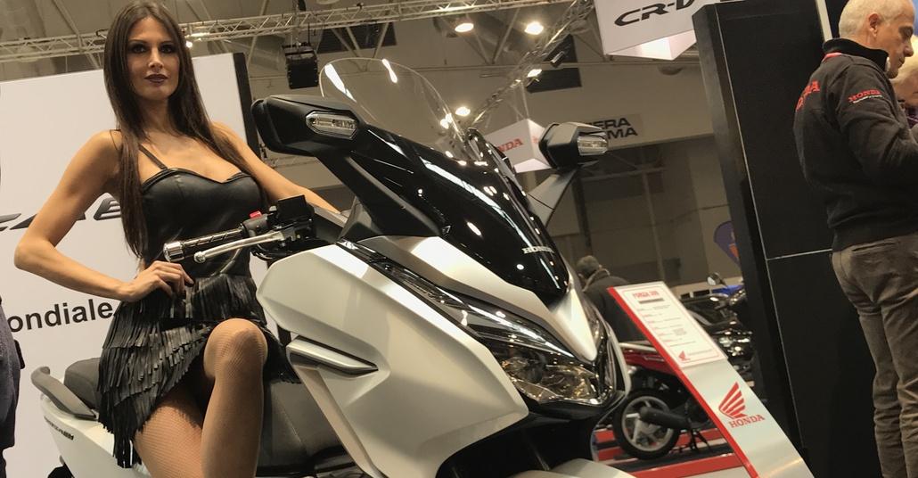 Honda Forza 300: a Moto Perego il primo esemplare