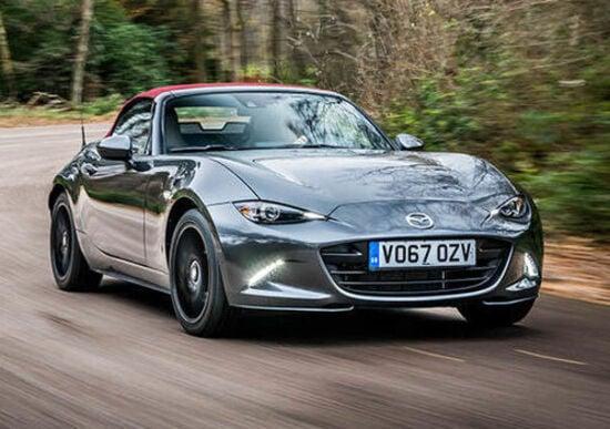 Mazda MX 5 2018, ecco le novità