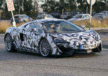 McLaren 570 GT: all'orizzonte la prima 2+2 di Woking