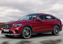 Mercedes GLC Coupé, l'anti-X4 per il 2016