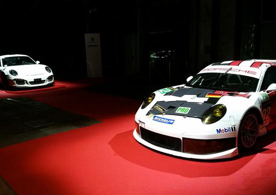 Porsche Carrera Cup Night: una grande festa... col giallo!