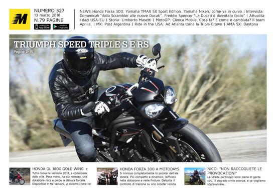 Magazine n° 327, scarica e leggi il meglio di Moto.it