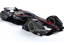 McLaren MP4-X: la F1 oltre i limiti dell'immaginazione