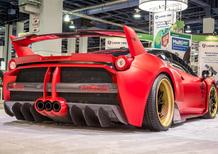 Ferrari 458 Italia: mai così aggressiva