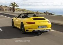 Porsche 911 restyling (991 II): la video-prova