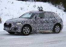 Audi Q5, la seconda generazione fa le prove sulla neve