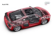Audi R8, una versione V6 2.9 biturbo al Salone di New York