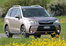 Subaru Forester Diesel Lineartronic: la video-prova