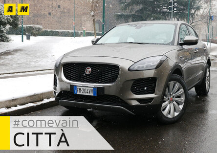 Jaguar E-Pace, Come va in... Città [video]