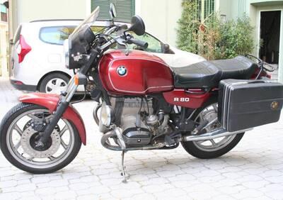 R 80 d'epoca del 1986 a Milano