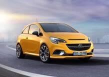 Opel Corsa GSi, nuovo allestimento anche per la piccola tedesca
