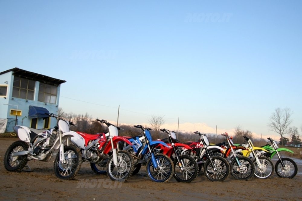 COMPARATIVA 450 CROSS 2009