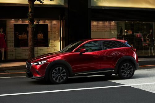 Mazda CX-3, il restyling debutta al Salone di New York 2018 (3)