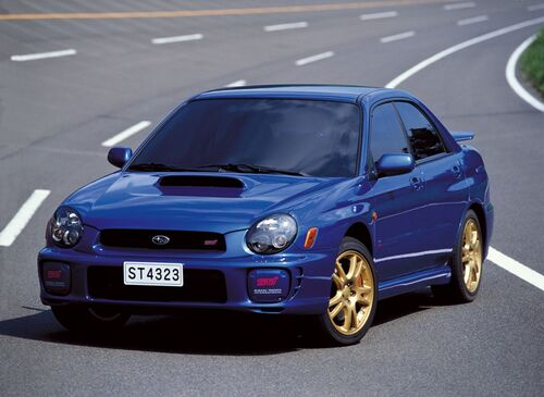 Subaru, 30 anni di STI (5)